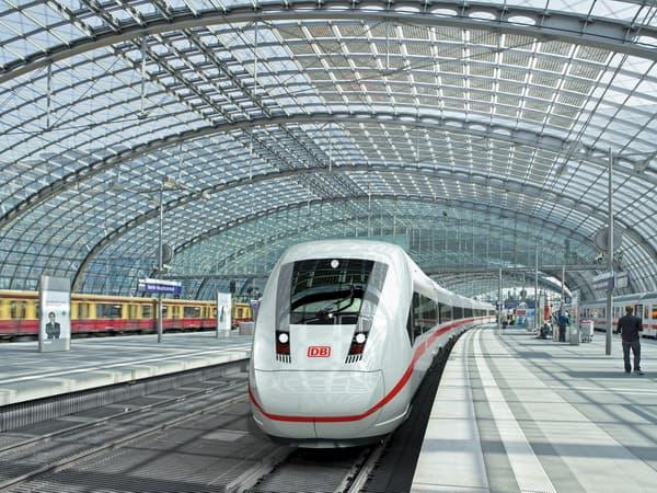 Đi từ Frankfurt đến Berlin bằng tàu hỏa