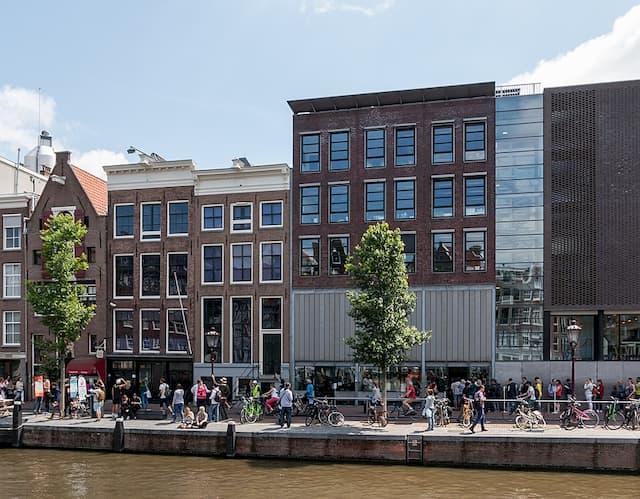 Nhà Anne Frank dia diem du lich Amsterdam