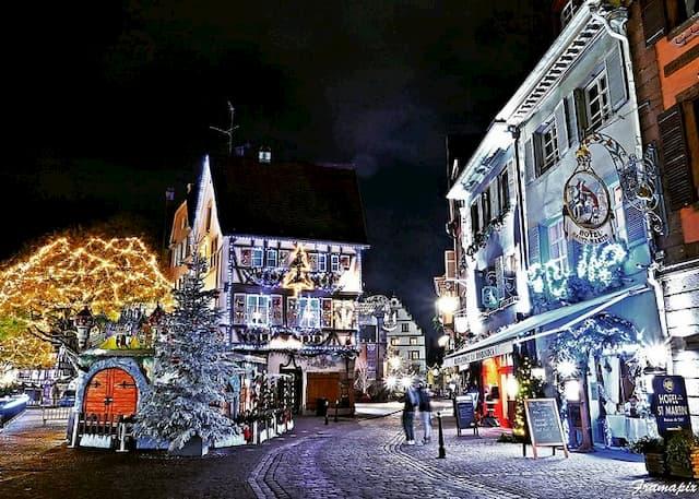 Chợ Giang sinh ở Colmar