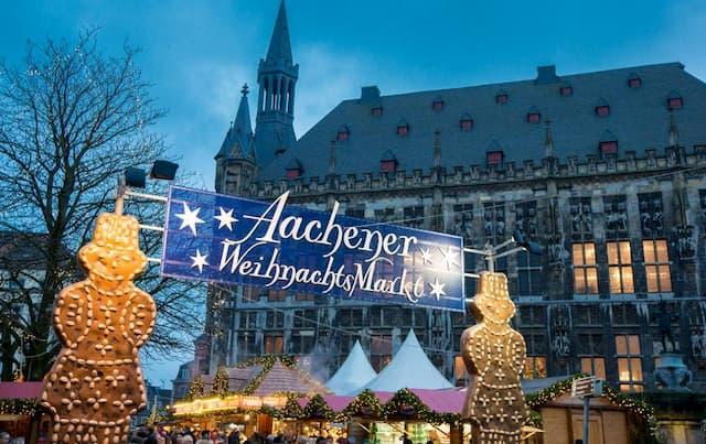 Chợ giáng sinh Aachen ở Đức