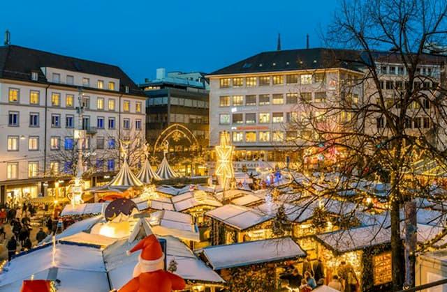 Chợ Giáng sinh ở Basel
