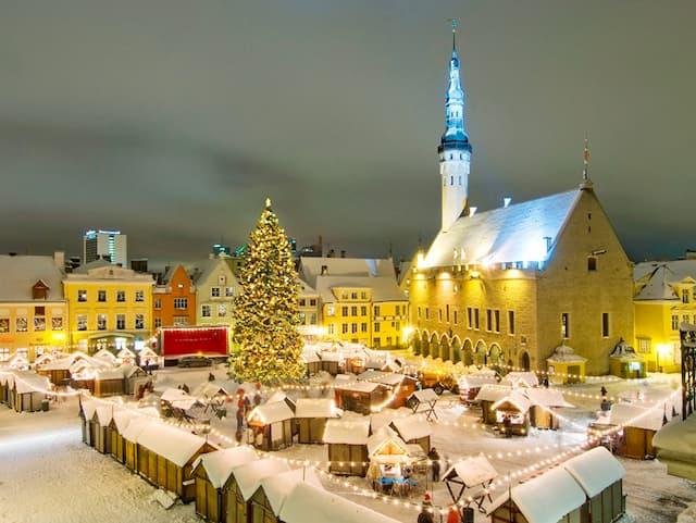 Chợ Giáng sinh ở Tallinn