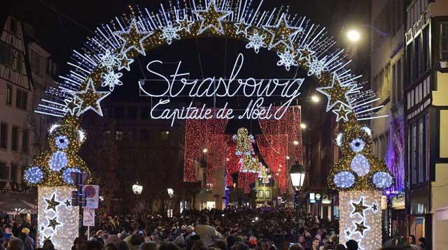 Chợ Giáng sinh Strasbourg