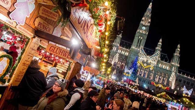 Chợ Giáng sinh ở Vienna